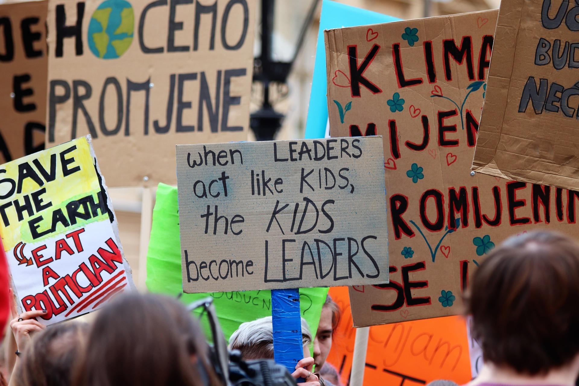Fridays for Future vuelve a las calles para protestar en contra del cambio climático