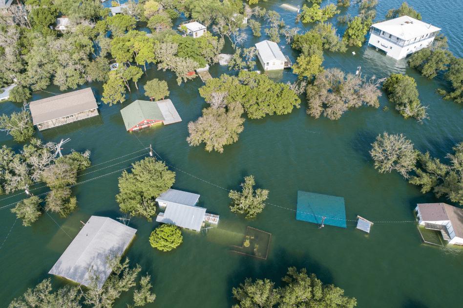 Las inundaciones incluyen una de las cinco vulnerabilidades globales.