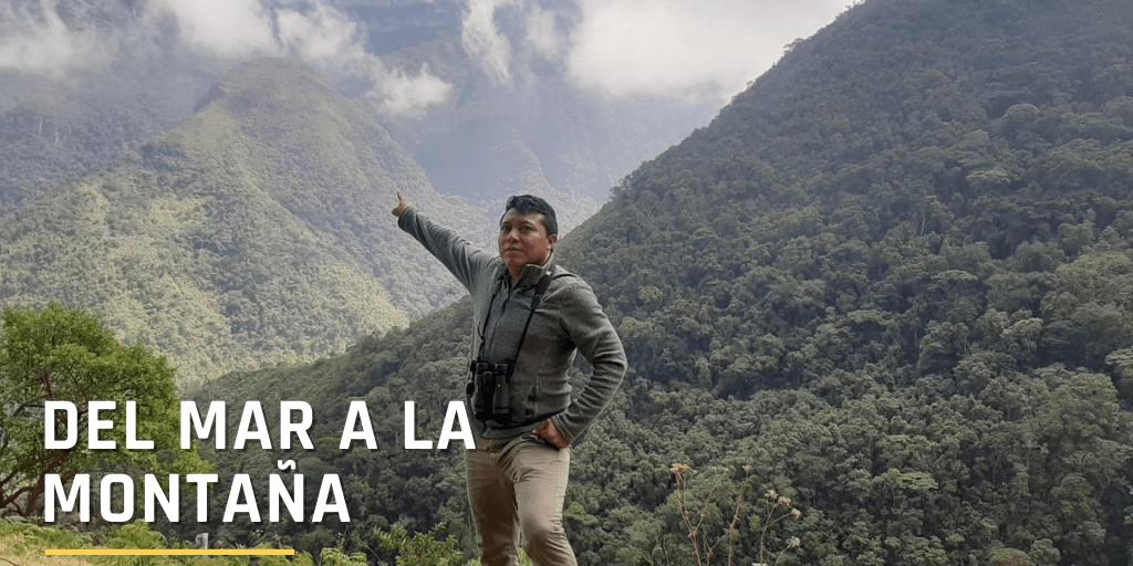 José Luís Puchaina, un indígena de la etnia Wayúu, se irá del mar a la montaña para censar cóndores.
