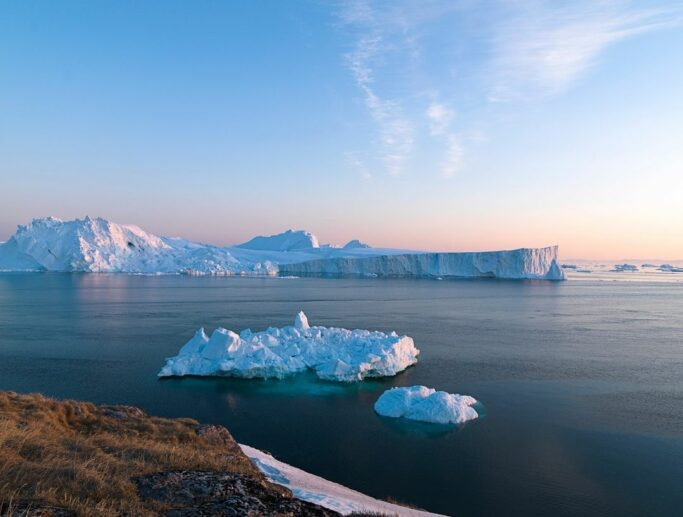 El Ártico este año experimentó, menor cantidad de nieve