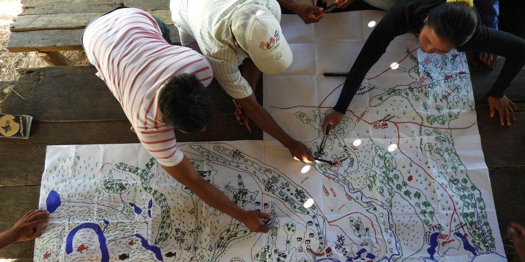 Varias entidades trabajan en la conservación del territorio ancestral de las selvas de Aliwa. Foto: Instituto Humboldt.